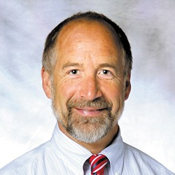 John R. White chairs WSU-Spokane's Department of Pharmacotherapy.