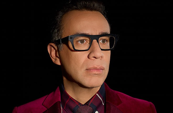 Fred Armisen performs at the Bing on July 7.