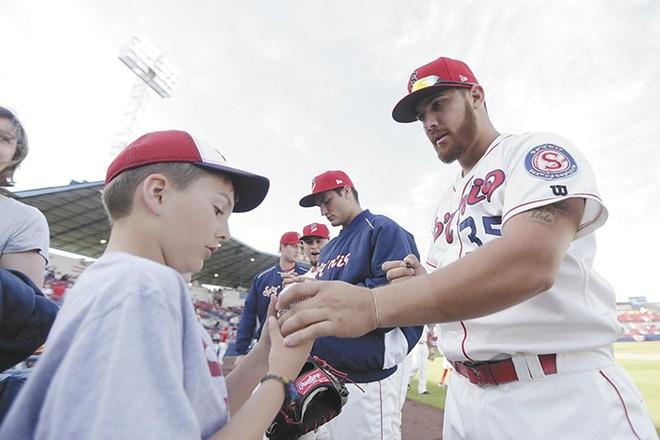 Opening Night of the Spokane Indians' 2017 Northwest League season is Thursday.