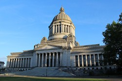 """Washington state schools chief Chris Reykdal says """"we were surprised"""" by the lawsuit."""