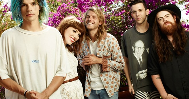 Grouplove will headline this year's Gleason Fest in downtown Spokane on Saturday, Aug. 12.