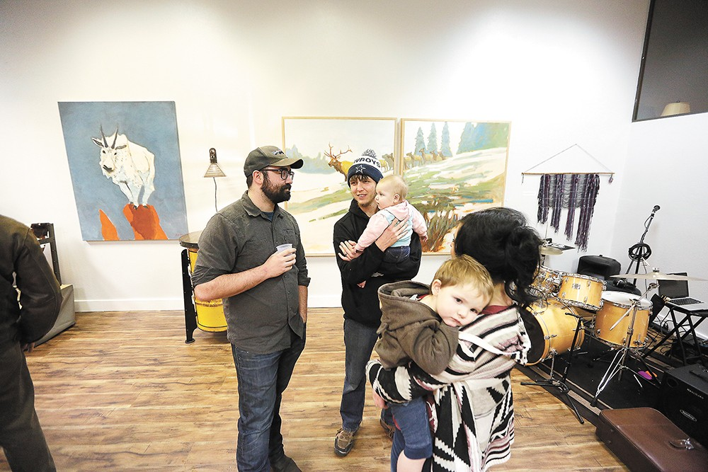 Coeur d'Alene's ArtWalk is scheduled for the second Friday of each month. - YOUNG KWAK