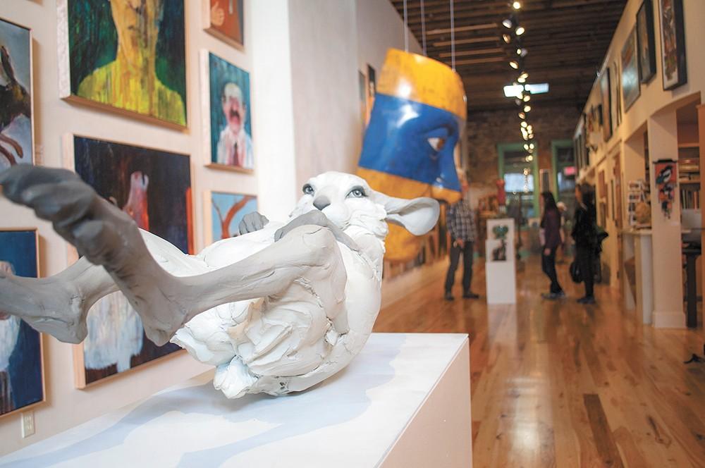 Art Spirit Gallery is celebrating its 20th anniversary. | - SARAH PHILP