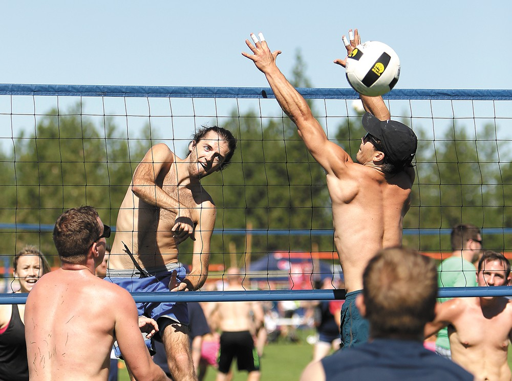 The two-day tournament Spike & Dig runs Aug. 4-5. - YOUNG KWAK