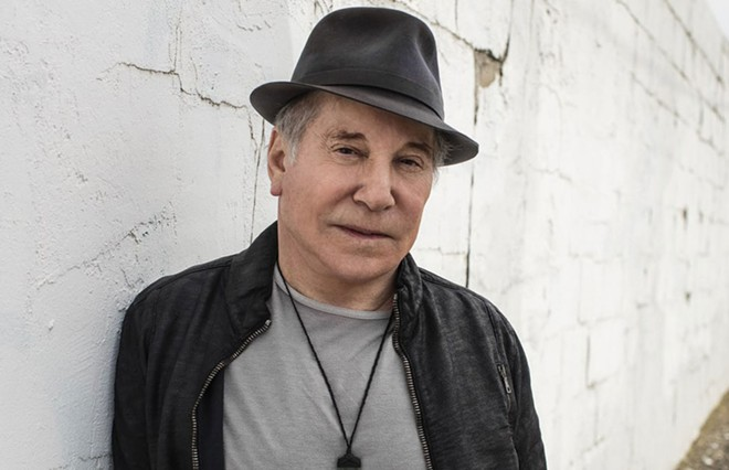 Paul Simon headlines Spokane Arena on Friday.