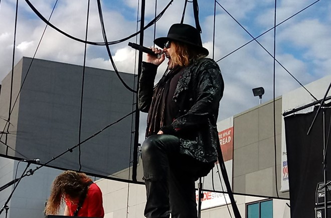 Dokken doesn't deal with sunlight too well, according to lead singer Don Dokken. - DAN NAILEN