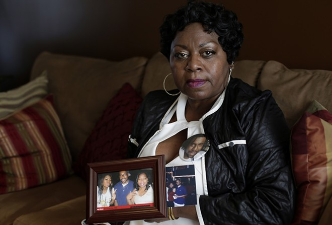 Valerie Castile, the mother of Philando Castile, the black motorist killed by a police officer from St. Anthony, Minn., at her home in Minneapolis, July 12, 2016. Valerie Castile reached a nearly $3 million settlement on June 26, 2017, with St. Anthony. The settlement came 10 days after the officer who fired the fatal shots, Jeronimo Yanez, was acquitted of second-degree manslaughter and all other charges. - JOSHUA LOTT/THE NEW YORK TIMES
