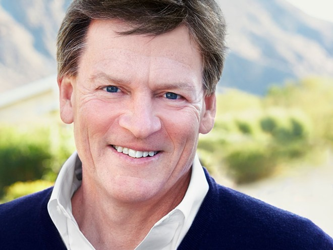Author Michael Lewis will speak in Spokane on Sept. 19.