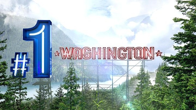 A new CNBC study says that Washington is America's No. 1 state for doing business. - CNBC