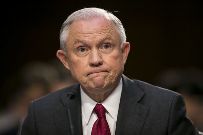 Attorney General Jeff Sessions - AL DRAGO/THE NEW YORK TIMES