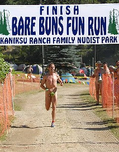 On Sunday morning, take it all off at the Kaniksu Ranch in Loon Lake.