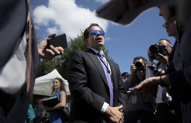 Anthony Scaramucci, pictured last week. - TOM BRENNER/THE NEW YORK TIMES