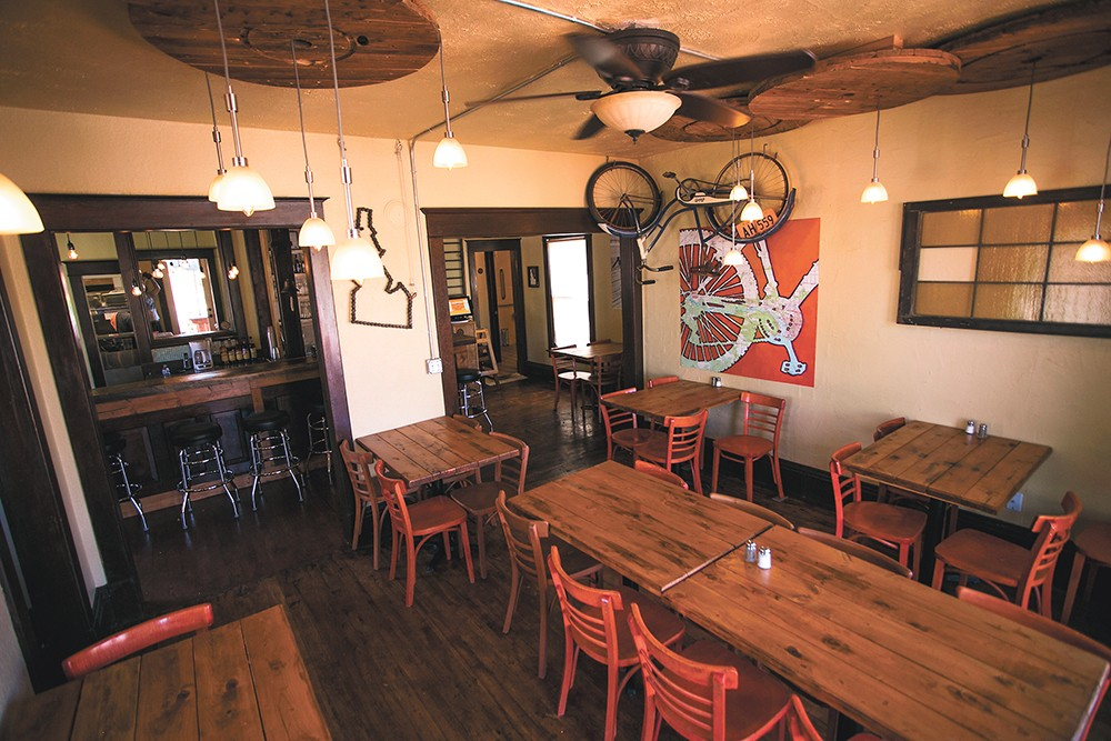 Republic Kitchen + Taphouse in Post Falls is one of Chef Adam Hegsted's two latest projects. - DAN COUILLARD