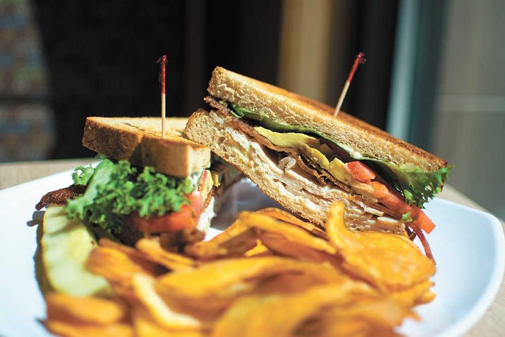 Fresh-made sandwiches are just one of Clark Fork's many offerings. - STUART DANFORD