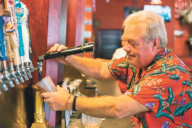 T.W. Fisher is back in business with his new Midtown Pub. - DAN COUILLARD