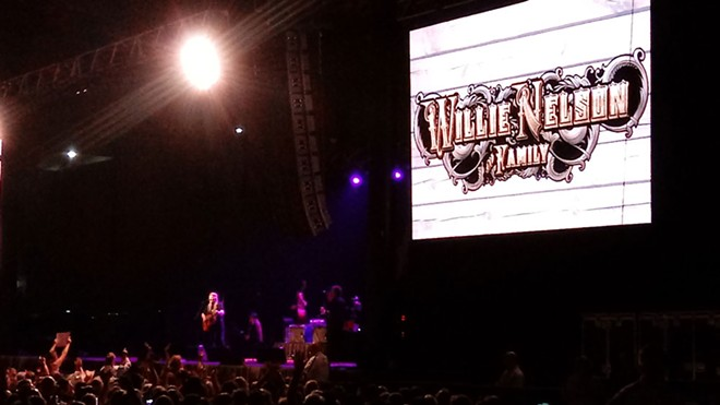 Fans enjoyed a career-spanning set at Willie Nelson's sold-out show at Northern Quest on Tuesday.