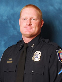 SPD Officer Chris McMurtrey