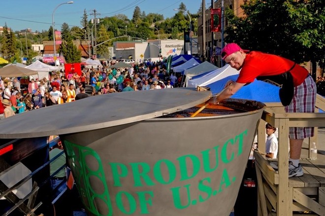 Why yes, that IS a giant pot of lentils. You can see for yourself at the National Lentil Festival in Pullman, Aug. 18-19.