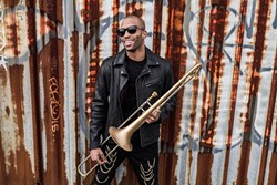 "Troy Andrews, aka ""Trombone Shorty."""