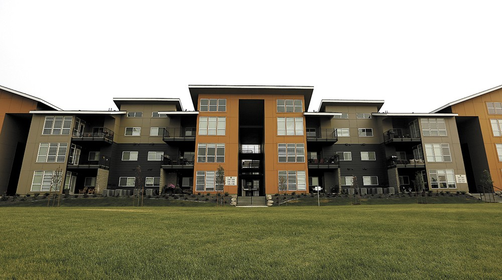 The hot rental market has brought large, new projects, like the Bella Tess apartments - in Spokane Valley, but despite adding new units, the vacancy rate has remained low. - YOUNG KWAK