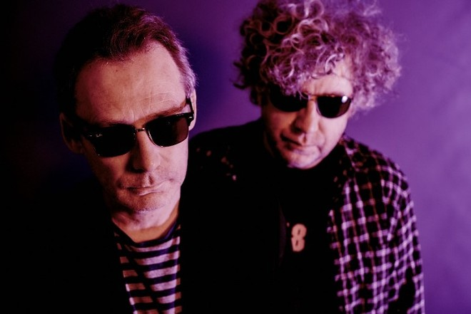 Jim (left) and William Reid of the Jesus and Mary Chain; they play the Bing on Oct. 26.