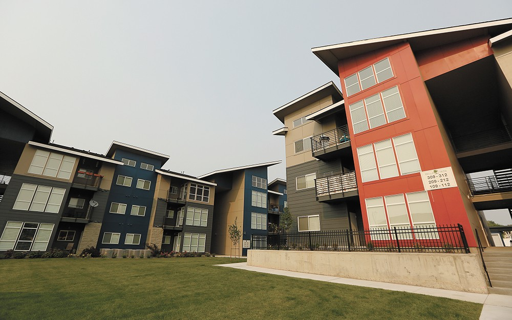 A large, new apartment development in Spokane Valley. - YOUNG KWAK
