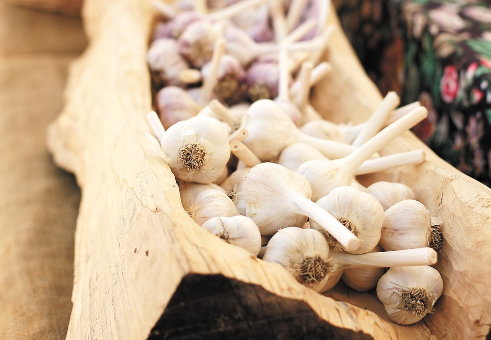 Most grocers only sell one variety of garlic, but there are many others to discover. - YOUNG KWAK