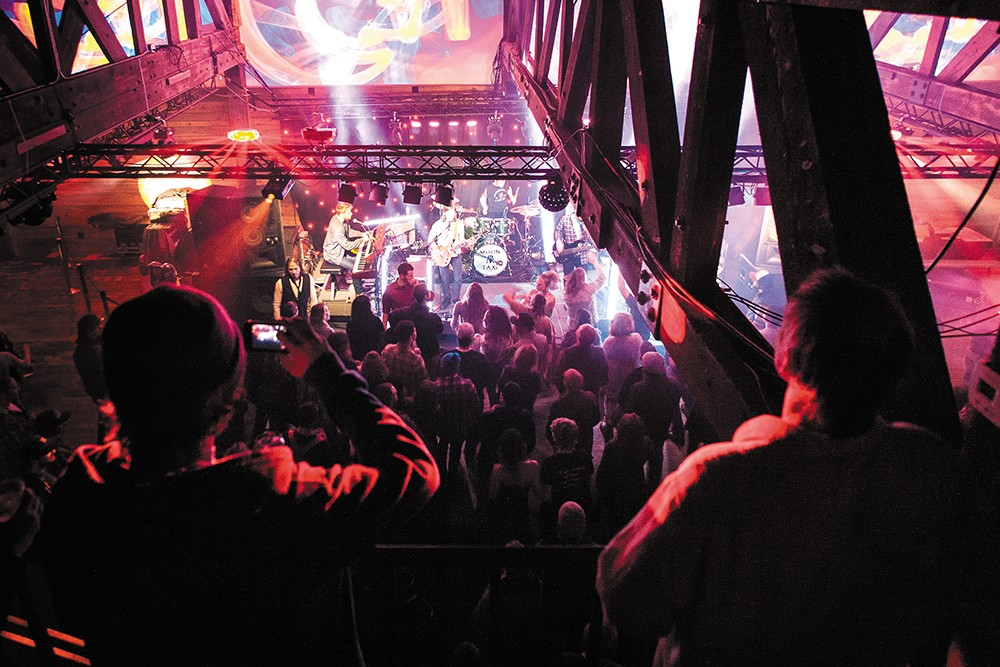 The Hive in Sandpoint specializes in funk, R&B and jam bands. - MIKE MCCALL