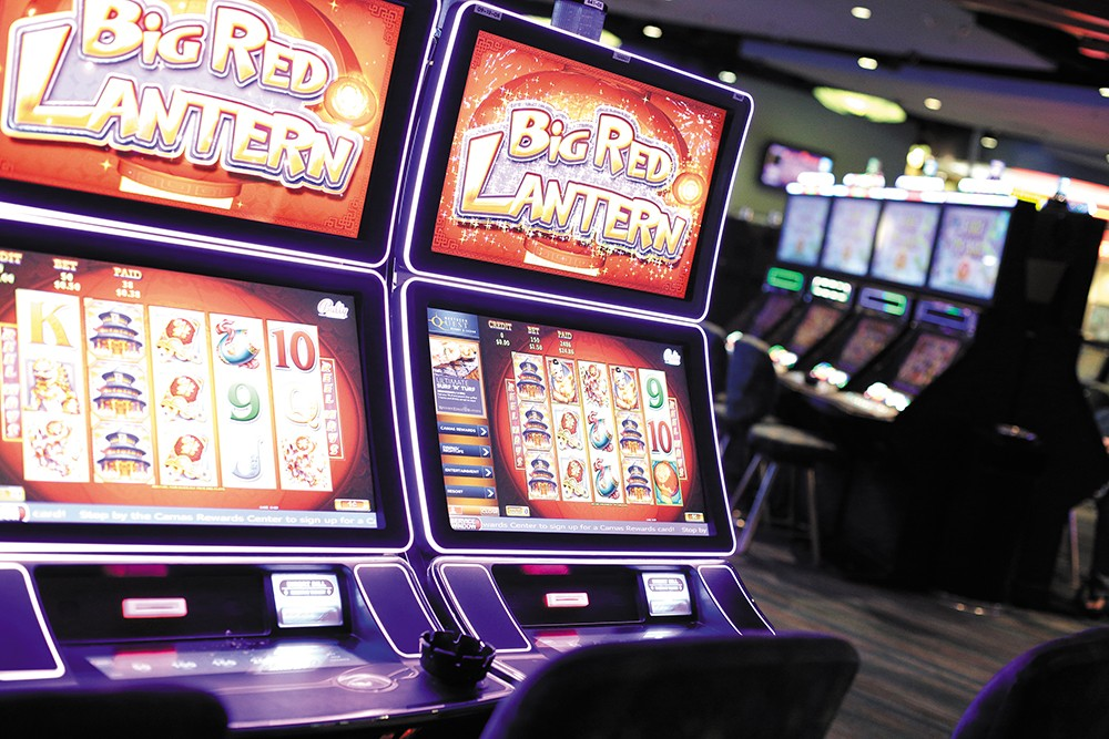 More than 1,650 slot machines await at Northern Quest Resort & Casino. - YOUNG KWAK