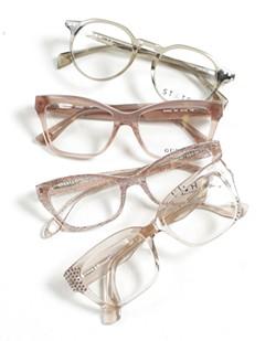 A sampling of frames at Garland Vision Source. - YOUNG KWAK