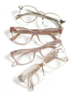 A sampling of frames at Garland Vision Source. - YOUNG KWAK