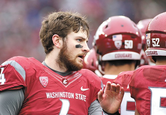 Luke Falk put his NFL dreams on hold for one more season in Pullman. - WSU ATHLETICS