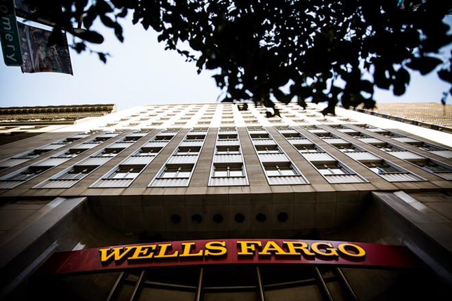 The headquarters building of Wells Fargo in San Francisco on Sept. 16, 2016. Wells Fargo said on Aug. 31, 2017, that an internal review of its potentially fraudulent bank accounts had uncovered a total of 3.5 million such accounts, some 1.4 million more than it had previously estimated. - MAX WHITTAKER/THE NEW YORK TIMES