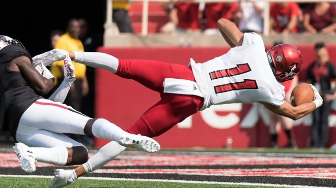One of the few highlights for the Eags on their tough trip to Texas Tech to open the season. - EWU ATHLETICS