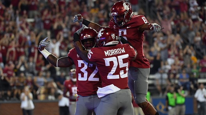 A game worth celebrating as the Cougs shut out Montana State in their season opener. - WSU ATHLETICS