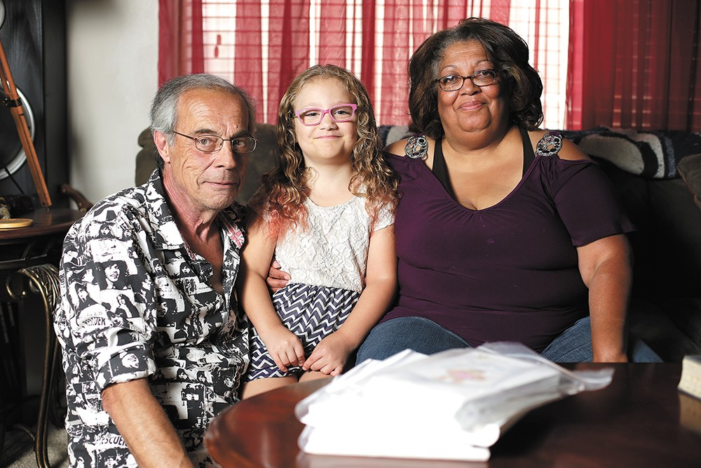 Ted and Leslie Gwiazda pulled their daughter, Lala, out of WAVA, saying the school isn't good for kids with special needs. - YOUNG KWAK