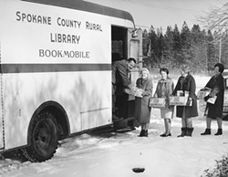 In the early days, SCLD was largely a mobile book-lending service.