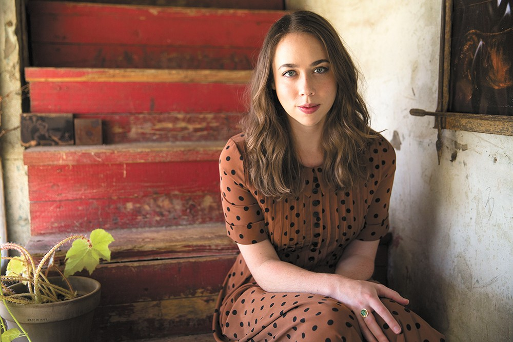 Fresh off a couple of Grammy wins, singer-songwriter Sarah Jarosz hits the Bartlett on Saturday. - SCOTT SIMONTACCHI PHOTO