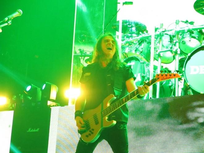 Megadeth bass player Dave Ellefson - DAN NAILEN