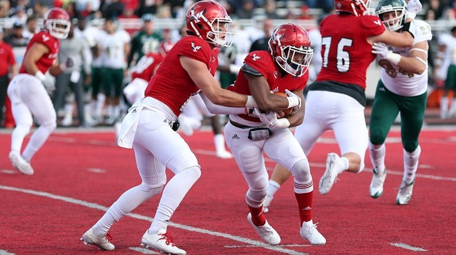 The running game worked, too, as EWU pounded Sacramento State on Saturday. - EWU ATHLETICS