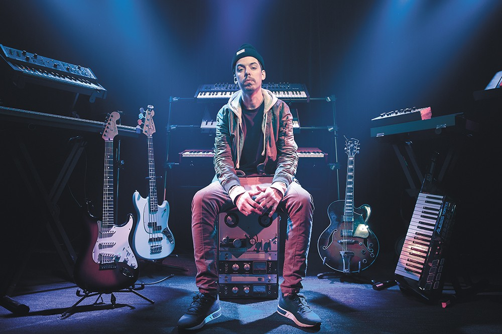 Benjamin Laub, aka Grieves, might be a socially conscious white rapper from Seattle, but he's hardly a Macklemore clone. - CARLOS CRUZ