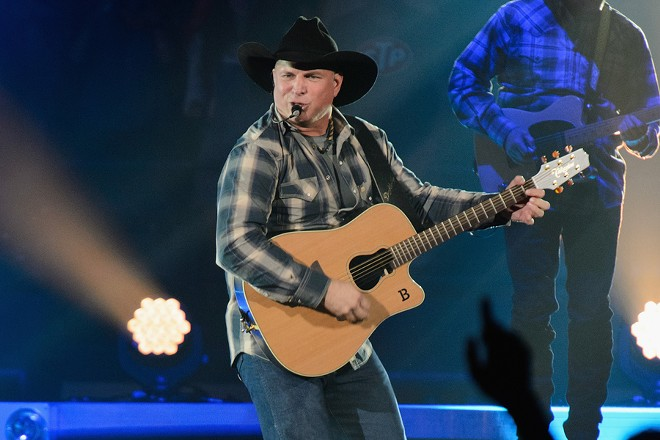 Country music star Garth Brooks returns to Spokane for back-to-back shows in November at  the Arena.