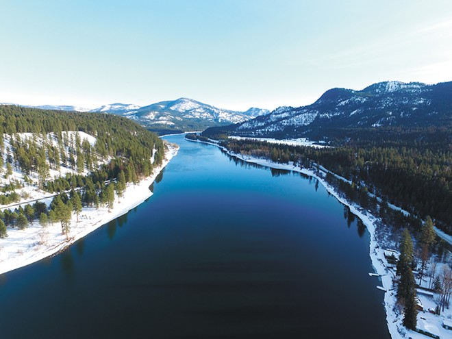 The Pend Oreille River between Ione and Cusick off Highway 20. - KEITH CAMPBELL PHOTO