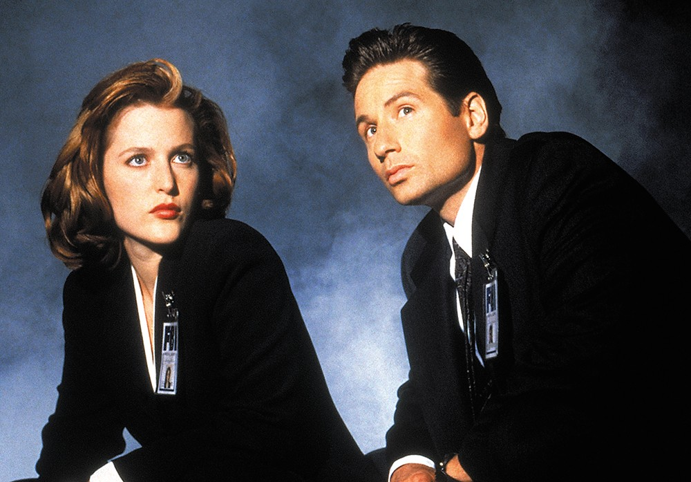 Watching The X-Files while partaking in pot might make you extra paranoid.