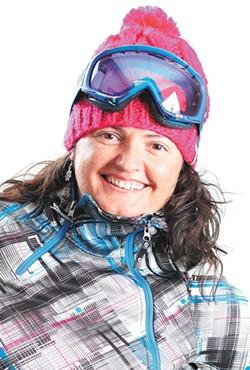 Snowlander editor Jen Forsyth