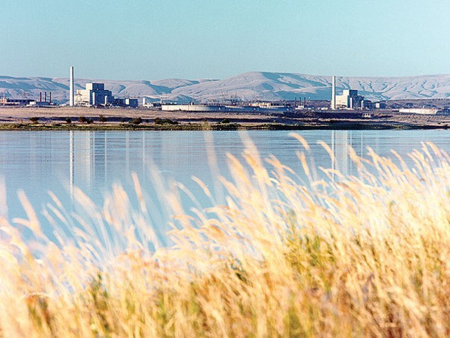 A total of 31 workers at the Hanford Nuclear Reservation's Plutonium Finishing Plant inhaled very small amounts of radioactive material in June, following a take-cover order for a contamination spread.
