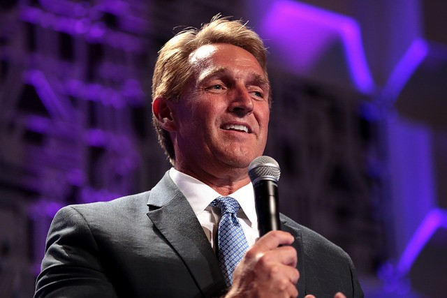 Sen. Jeff Flake, R-Ariz., will not seek re-election in 2018. - GAGE SKIDMORE