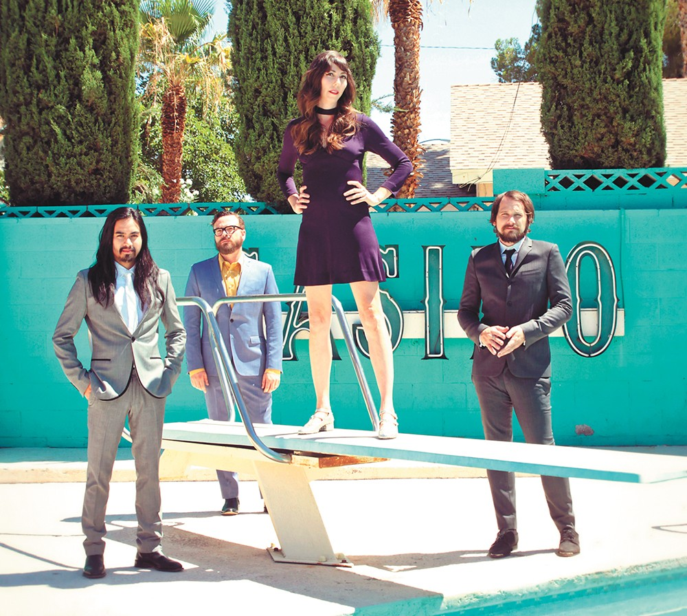 The L.A.-based Silversun Pickups formed in 2000. - MARIE VOGEL PHOTO