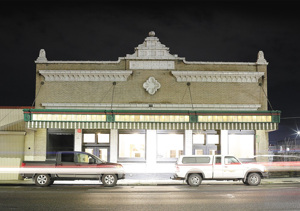 The Buchanan Building, on Third Avenue, once housed one of the city's funeral homes. - YOUNG KWAK