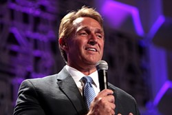 Arizona Sen. Jeff Flake, a Republican, ripped President Trump and his own party in announcing he would not seek reelection. - THE NEW YORK TIMES